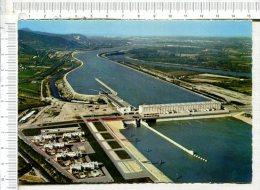 CHUTE De  BEAUCHASTEL - L Usine, Le Canal Et Le Rhône - Autres Communes