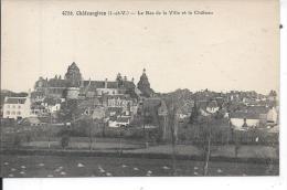 CHATEAUGIRON - Le Basde La Ville Et Le Château - Châteaugiron