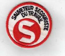 Sauveteur Secouriste Du Travail - S - - Scudetti In Tela