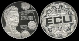 PAYS - BAS .  WILLEM I .  25 ECU . 1992 . - [ 8] Monnaies D'or Et D'argent