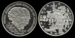 PAYS - BAS . JULIANA & BERNHARD .  25 ECU . 1994 . - [ 8] Monnaies D'or Et D'argent