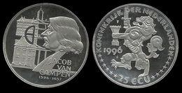 PAYS - BAS . JACOB VAN CAMPEN .  25 ECU . 1996 . - [ 8] Monnaies D'or Et D'argent