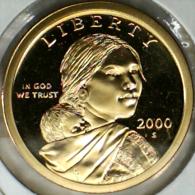 2000-S, USA, **PROOF**   ONE DOLLAR COIN  -  **SEE PHOTOS** - 2000-…: Sacagawea