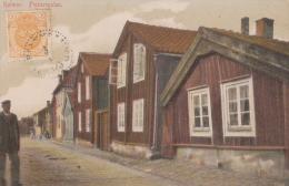 SUEDE KALMAR FISKAREGALAN MAISONS DE PECHEURS QUARTIER TYPIQUE - Suède