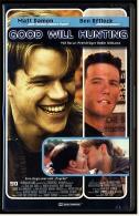 VHS Video  -  Good Will Hunting   -  Mit : Matt Damon, Cole Hauser, Ben Affleck, Casey Affleck  , Von 1998 - Dramma