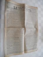 Le Patriote 11 Juillet 1912 : Esclavagistes, Congo, Tour De France, M Alanic, - Boeken, Tijdschriften, Stripverhalen