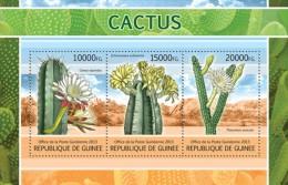 gu13103a Guinea 2013 Cactus s/s