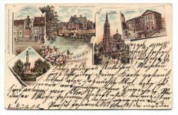 Bromberg 1901, Gruss Aus - Westpreussen