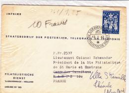 Gravenhage 1962 Filatelistische - Lettre Brief Cover - Poststempels/ Marcofilie