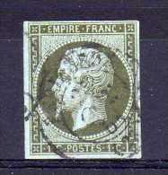 France - 1853 - 1 Cent - Used - 1853-1860 Napoleon III