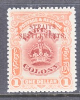 Straits Settlements  144  ** - Straits Settlements