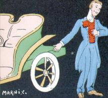 AUTOMOBILE - MARNIX - LA VENTE - 1 CARTE EN 2 SCANS (PROBLEME DE SCANNER° - Altre Illustrazioni
