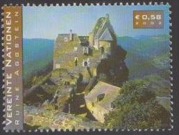 Burgruine Aggstein Ander Donau Ruins, 12th Century Castle  Tourism Architecture MNH United Nation - Châteaux