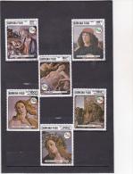 BURKINA : Détails De Tableaux De Botticelli : O : Y&T : 685 à 687-313 à 315  PA - Burkina Faso (1984-...)