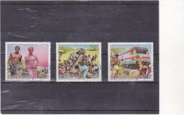 BURKINA :la Bataille Du Rail : O : Y&T : 690 à 692- - Burkina Faso (1984-...)