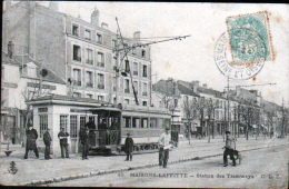 78 - MAISONS LAFITTE - STATION DES TRAMWAYS - Maisons-Laffitte