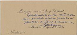 Postal Felicitacion Nöel Navidad Christmas Candido 1975 Firmada Carte Postale Postcard - Cristianismo