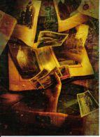 Postal Un Cofre De Recuerdos De Alejandro Teran Carte Postale Postcard - Sellos (representaciones)