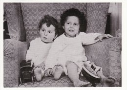 RMS Titanic Postcard 2 Young Survivors Michael Edmond Navratil Hoffman - Disasters