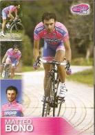 4354/A - SPORT - CICLISMO - BONO MATTEO - Cyclisme