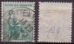 FRANCE:ORPHELIN N°149 OBLITERE - Used Stamps