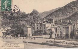 D04 - Entrevaux - La Plage - Troupe En Manoevre  : Achat Immédiat - Andere Gemeenten