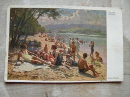 Austria  Wien  - Strandbad Gänsehäufel  -Franz Horst   105500 - Vienne