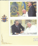 Kazakhstan 352/353 Pausbezoek - Kazakhstan