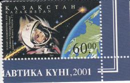 Kazakhstan 313 Dag Van De Kosmonauten - Kazakhstan