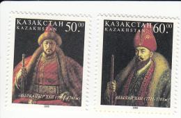 Kazakhstan 316/317 Kazaakse Khanen - Kazakhstan