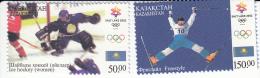 Kazakhstan 360/361 Olympische Winterspelen Salt Lake City - Kazakhstan