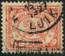 "Pays : 232 (Inde Néerlandaise : Colonie Néerlandaise)  Yvert Et Tellier N° :  132 (o)  Oblitération ""Luik"" In Belgium !! - Indes Néerlandaises"