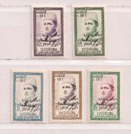 MAROC  ( D14 - 7481 )   1960   N° YVERT ET TELLIER     N° 397/401   N** - Morocco (1956-...)