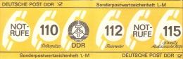 Germany (DDR) 1986  Michel SMHD 26 A 2   (**) MNH - [6] Democratic Republic