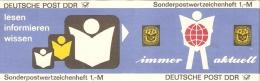 Germany (DDR) 1986  Michel SMHD 27 A 2   (**) MNH - [6] Democratic Republic