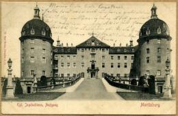 Kgl Jagdschloss Aufgang Moritzburg Postcard - Moritzburg