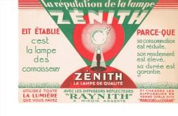 Lampe Zenith - Electricité & Gaz