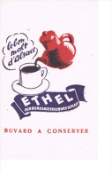 Buvard Le Bon Malt D'alsace Ethel - Café & Thé