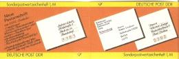 Germany (DDR) 1987  Michel SMHD 34 A 2   (**) MNH - [6] Democratic Republic