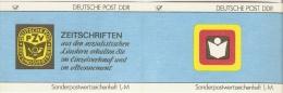Germany (DDR) 1987  Michel SMHD 35 A 2   (**) MNH - [6] Democratic Republic