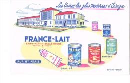 Buvard France Lait  Saint Martin Belle Roche - Food