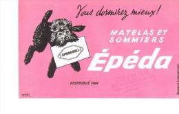 Buvard Matelas Et Sommiers Epeda - Blotters