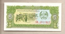 Laos - Banconota Non Circolata Da 5 Kip - Laos