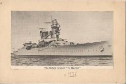 THE DUTCH CRUISER  DE RUYTER - Boats