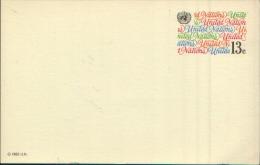 UNITED NATIONS 1982 CARD - ONU