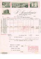 Algerie Oran St Eugene 1937 Vins F Seneclauze - Factures & Documents Commerciaux