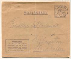 3pk652: MILITÄRBREV  HALLSBERG 9. 12 40 * ... Geplooid.... - Militaires