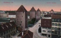 Dép. 67 - Strassburg I. Eis. - Gedeckte Brücken. Carte Allemande Colorisée. Hartmann N° 26279 - Strasbourg