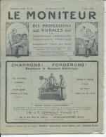 LE MONITEUR Des Professions Rurales Charronnage, Carrosserie, Maréchalerie, Mécanique - 2eme Ann. N° 14 - 5 Juin 1924 - Livres, BD, Revues