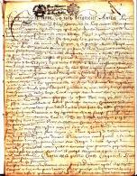 """Parchemin - 1679 - 12 Pages - """"Contract D´achapt De La Grange Champmol"""" - Auxonne - Cachet Généralité """"Bourg. Bresse"""" - Manuscrits"""